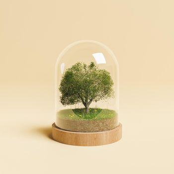 environmental conservation concept