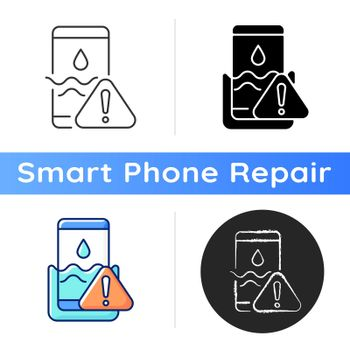 Water damage icon