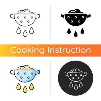 Drain food icon