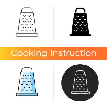 Grate for cooking icon