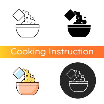 Add cooking ingredient icon