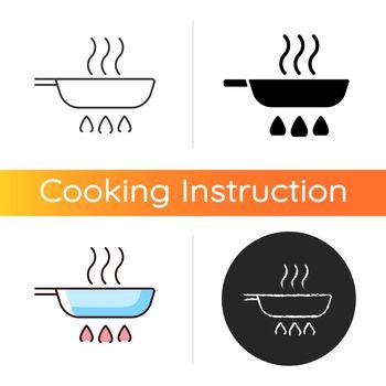 Fry pan icon