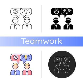 Brainstorming icon