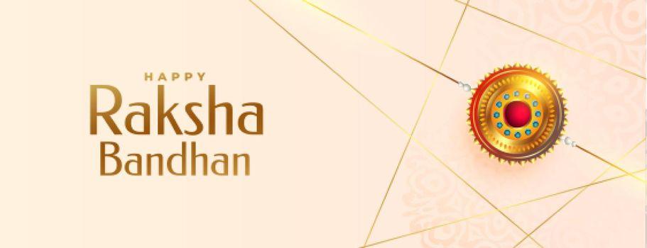 festival banner of raksha bandhan event