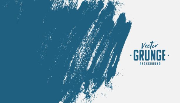 hand painted blue grunge texture background