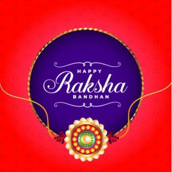 realistic raksha bandhan festival wishes greeting