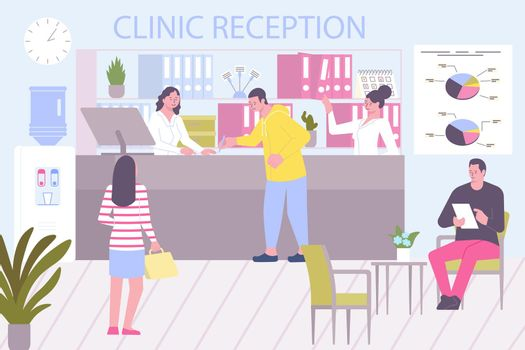 Clinic Reception Admission Composition