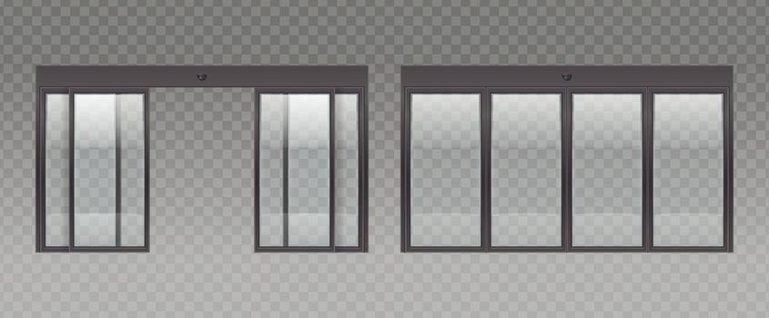 Realistic Entrance Doors Set