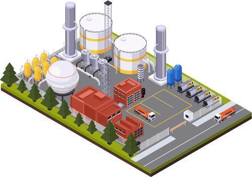 Petroleum Processing Plant Composition