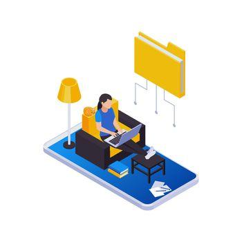 Remote Work Folder Composition