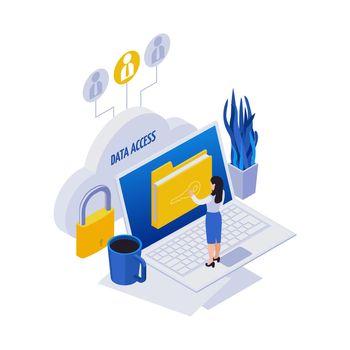 Remote Data Access Composition