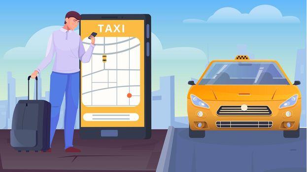 Taxi App Flat
