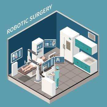 Robotic Surgery Isometric Concept