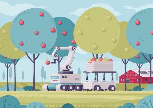 Smart Fruits Gathering Composition