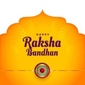 ethnic raksha bandhan festival background design