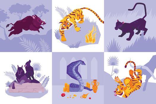 Mowgli Icon Set