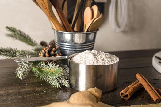 Flour cake ingredient