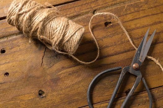 Old-fashioned scissors