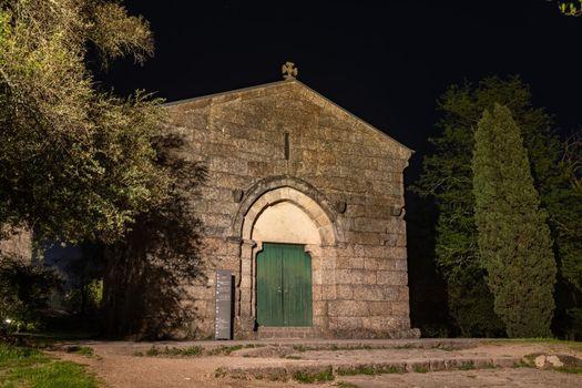 Sao Miguel Chapel at night