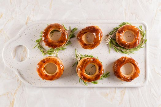Portuguese pastry Glorias