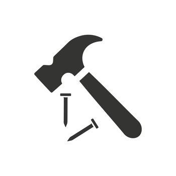 Hammer, Repair Icon