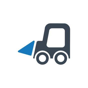 Small Excavator Icon
