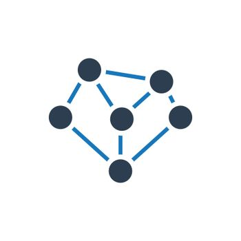 Link Building /  Networking / Connectivity icon. Meticulously designed vector EPS file.