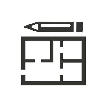 Construction Planning Icon