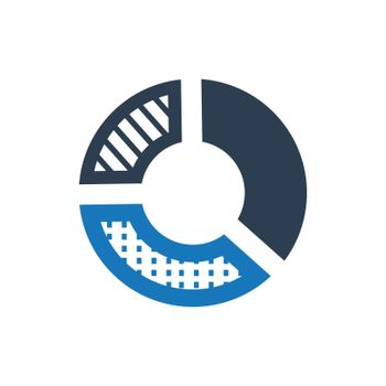 """Meticulously Designed """"Graphical Report icon. Meticulously designed vector EPS file."""""""