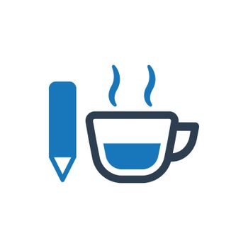 """Meticulously Designed """"Content Writing icon. Meticulously designed vector EPS file."""""""
