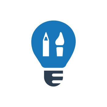 Creative Design / Graphic Design  icon. Meticulously designed vector EPS file.