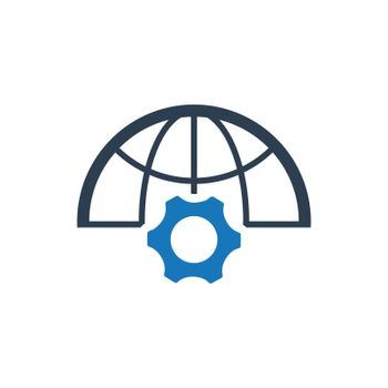"""Meticulously Designed """"Network Development icon. Meticulously designed vector EPS file."""""""