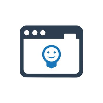 """Meticulously Designed """"Web Development icon. Meticulously designed vector EPS file. """""""
