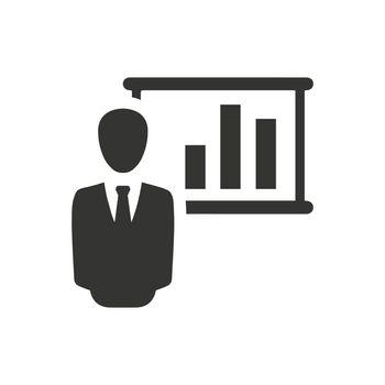 Business Presentation Icon