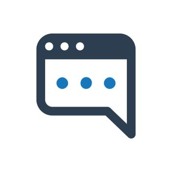 """Meticulously Designed """"Blog Post icon. Meticulously designed vector EPS file."""""""
