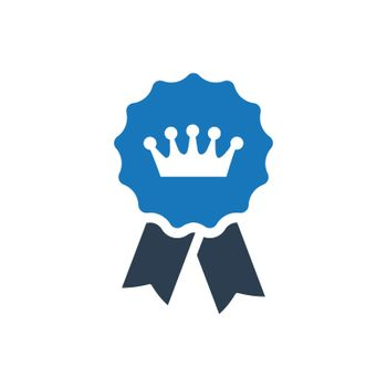 """Meticulously Designed """"award badge icon. Meticulously designed vector EPS file."""""""
