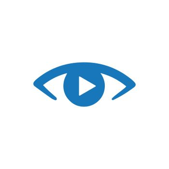 """Meticulously Designed """"Video Watching icon. Meticulously designed vector EPS file."""""""