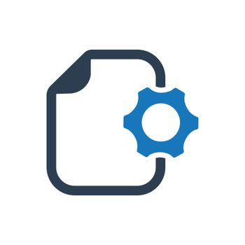 """Meticulously Designed """"Content Management icon. Meticulously designed vector EPS file."""""""