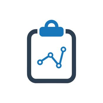 """Meticulously Designed """"Statistics Report icon. Meticulously designed vector EPS file."""""""