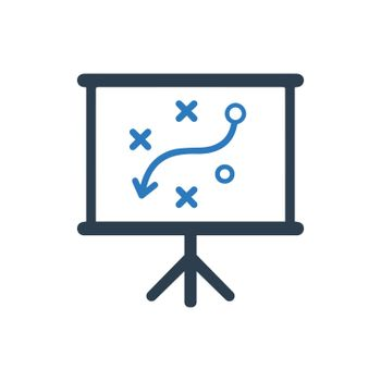 Presenting Business Strategy Icon