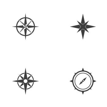 Vector - Compass signs and symbols