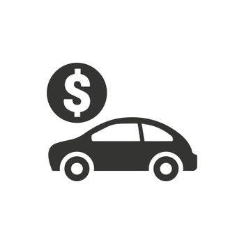 Auto Loan icon. Meticulously designed vector EPS file.