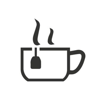 Tea icon. Meticulously designed vector EPS file.