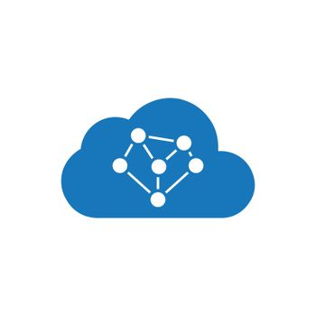 Cloud Connectivity / Network icon. Meticulously designed vector EPS file.