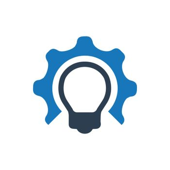 """Meticulously Designed """"idea development icon. Meticulously designed vector EPS file."""""""