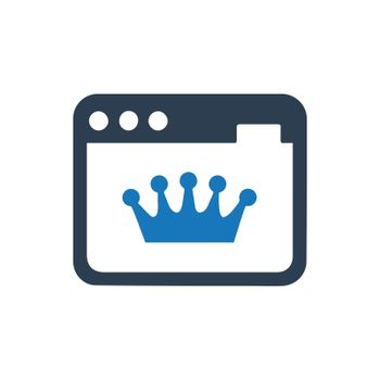 """Meticulously Designed """"Page Rank icon. Meticulously designed vector EPS file."""""""