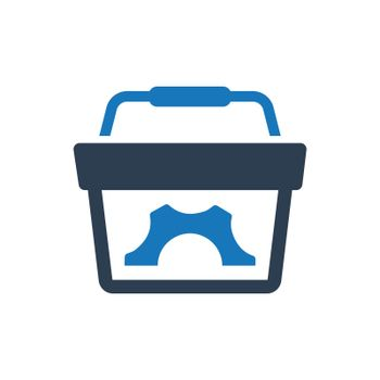 e-commerce solution icon. Meticulously designed vector EPS file.