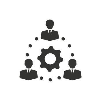 Teamwork, Teamwork Solution Icon