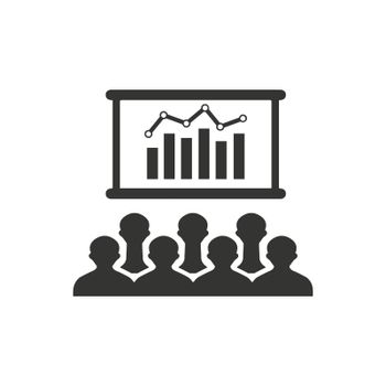 Graphical Presentation Icon