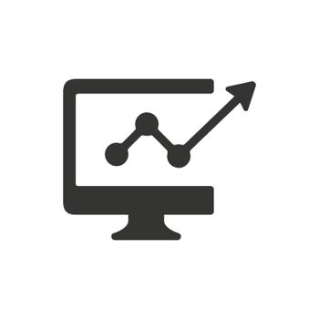 Marketing Trend icon. Meticulously designed vector EPS file.